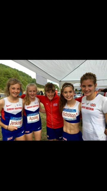 World Championships Team GB 2015